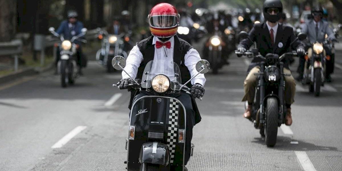 Las motos del Distinguished Gentleman's Ride llegan al Nacional