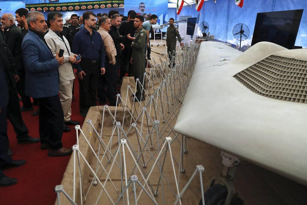 Insólito: Irán muestra de forma pública todos los drones de Estados Unidos abatidos en su territorio