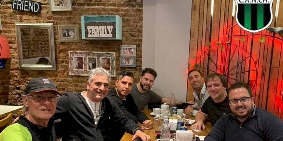 ¡Que viva el fútbol! Reconocido relator argentino se convirtió en entrenador de Nueva Chicago