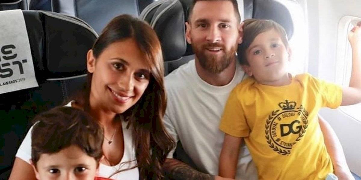 FOTO. Los Messi arrasan con su elegancia en los premios The Best