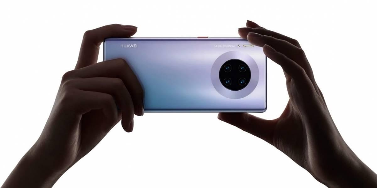 El Huawei Mate 30 Pro, con pantalla ultra curva y súper cámara lenta