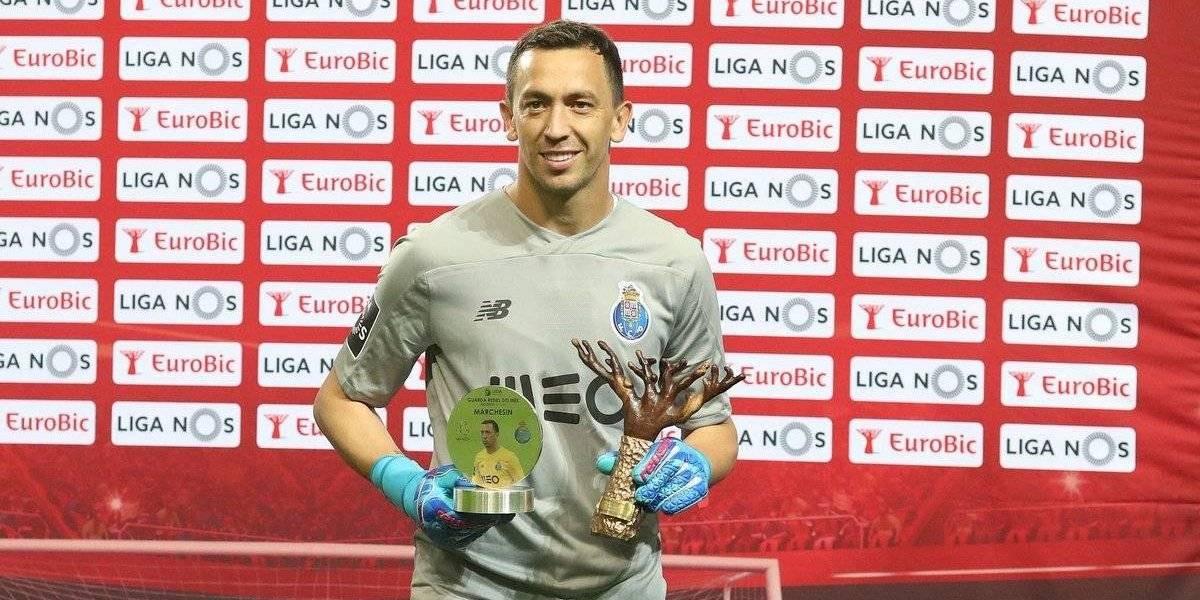 Agustín Marchesín es elegido el mejor portero del mes en Portugal