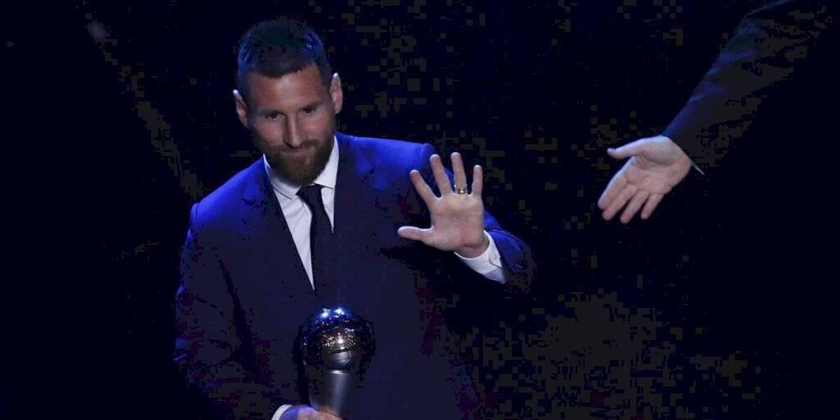 Lionel Messi gana el premio The Best 2019