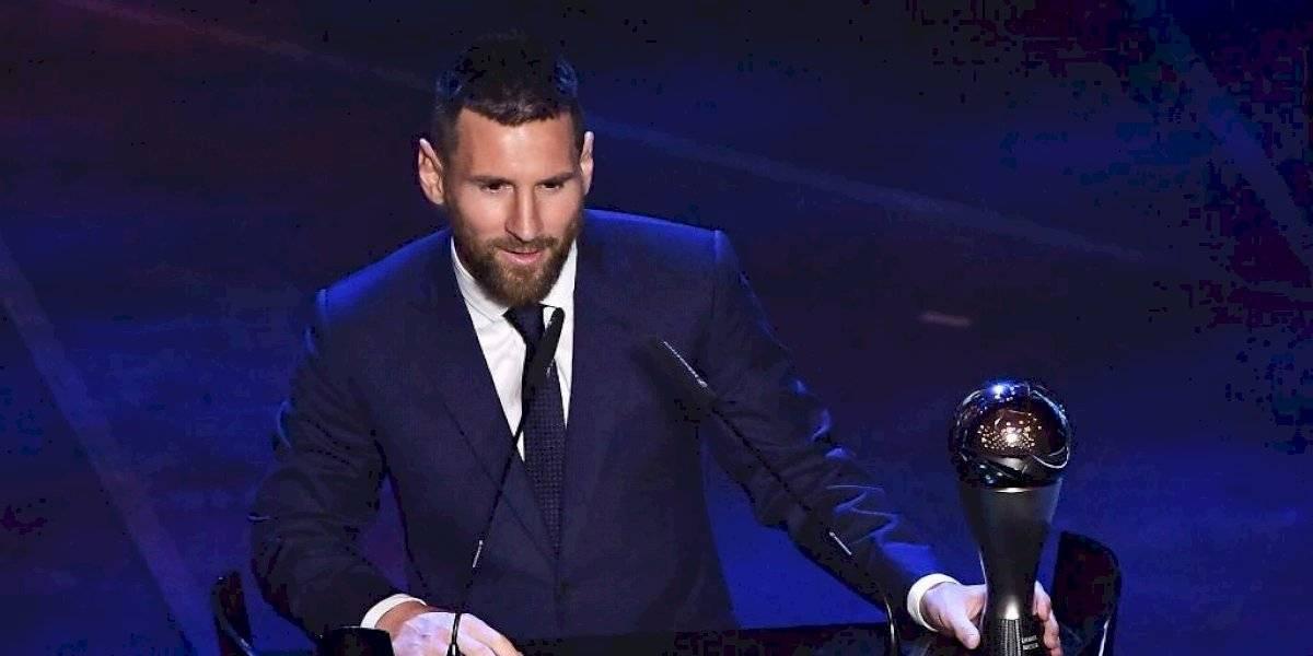 Messi no fue el ganador de The Best para los periodistas