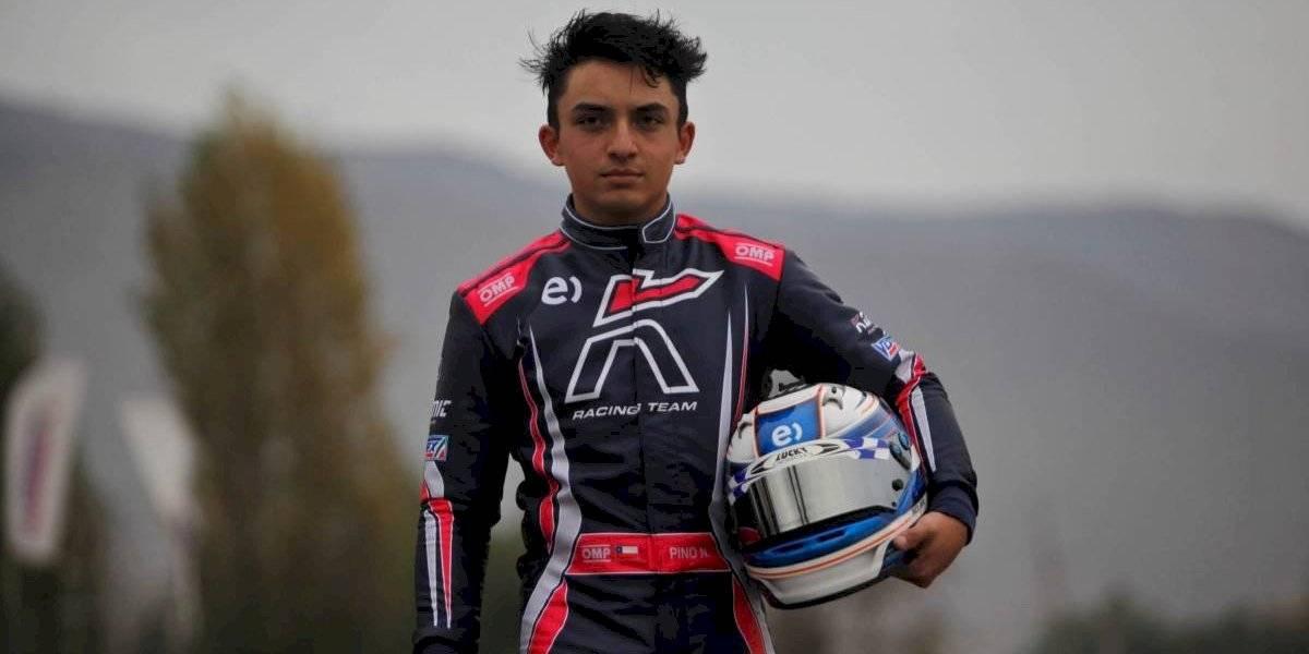 Nicolás Pino ya tiene fecha de debut en la Fórmula 4