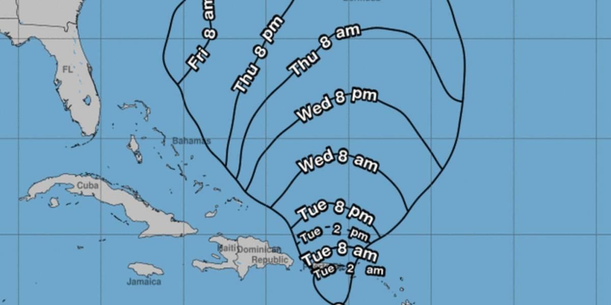 Tormenta Karen es degradada a depresión tropical