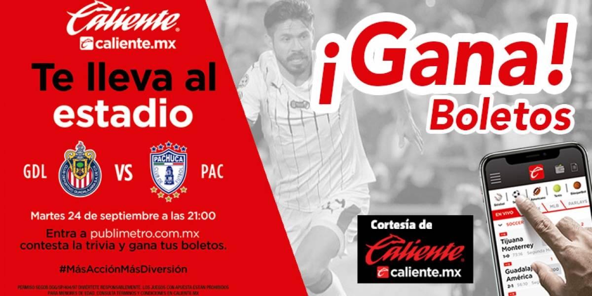 ¡Gana! pase doble para el partido Chivas vs Pachuca