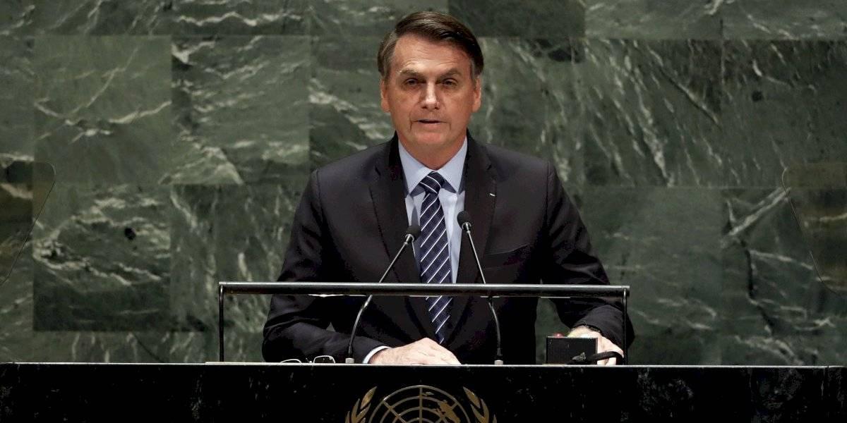 """Bolsonaro dijo en las Naciones Unidas que """"el Amazonas no es patrimonio de la humanidad"""""""