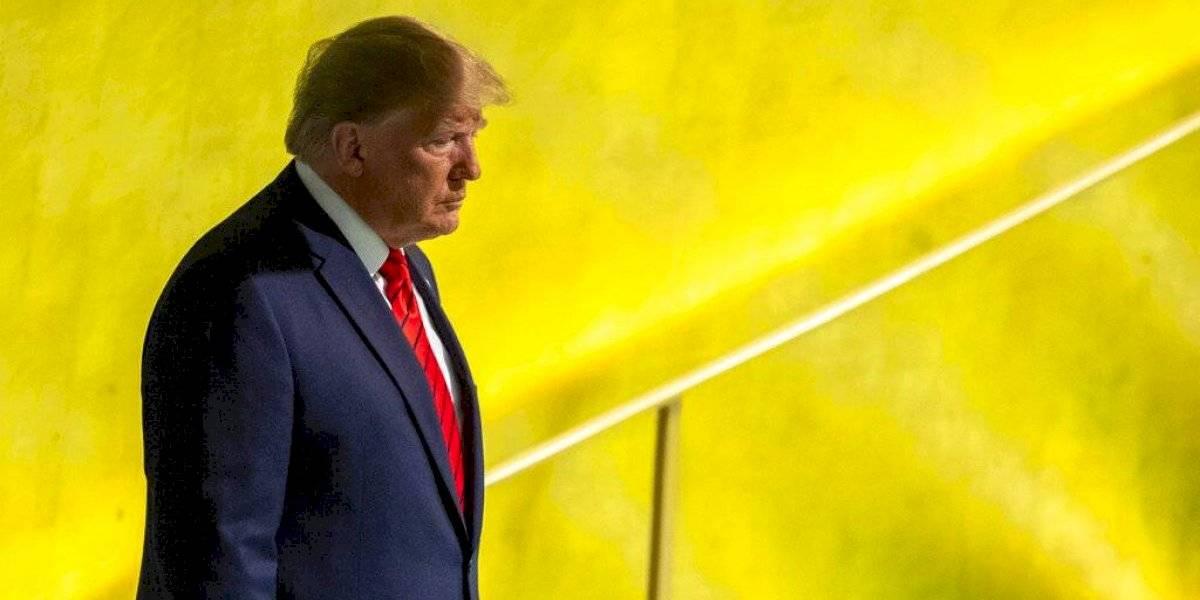 Trump ordena difundir transcripción de llamada con presidente ucraniano
