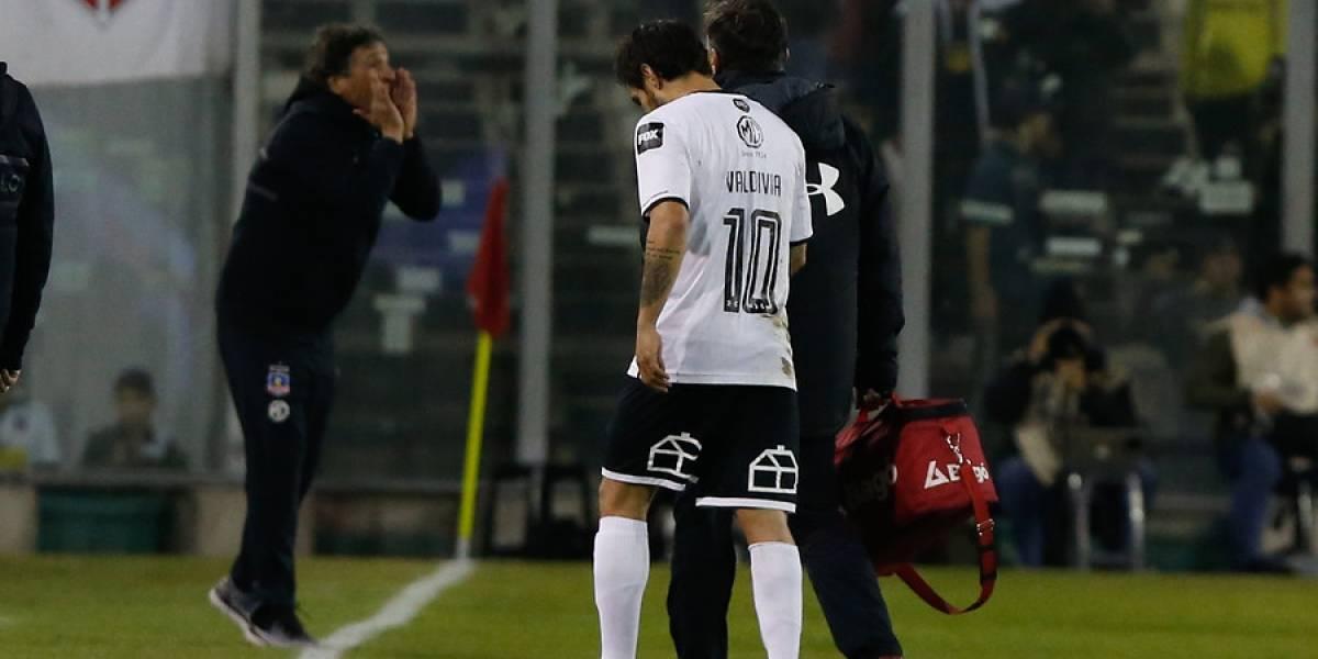 Colo Colo sufre: Jorge Valdivia se desgarra y queda fuera del Superclásico ante la U