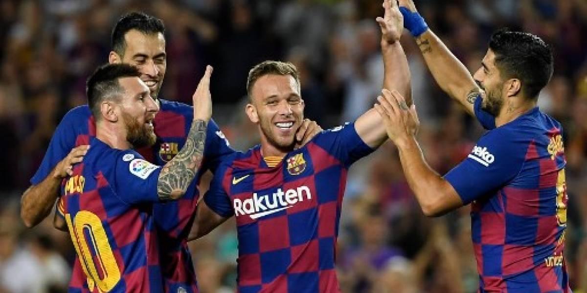 Barcelona vence al Villareal pero Messi sale lesionado