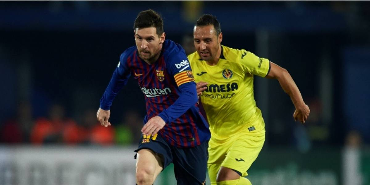 Barcelona vs. Villarreal: el Barsa necesita a Messi
