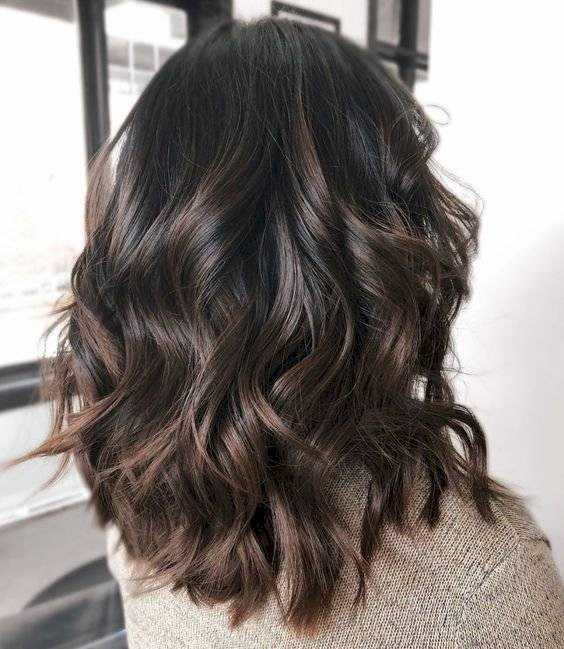 color de cabello para morenas 2019
