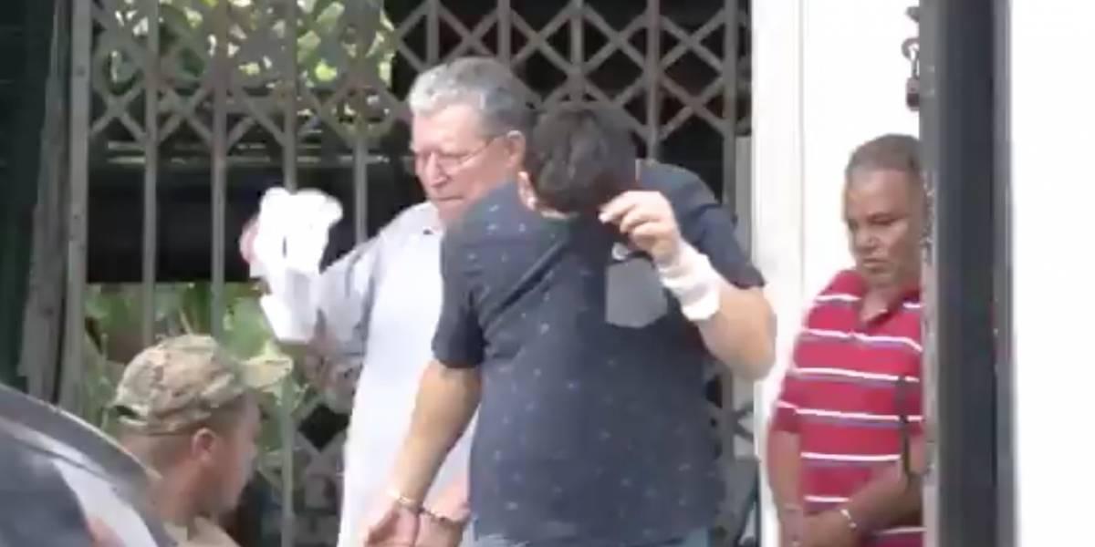 Juan Pablo Larrea fue detenido en Belice con más de una tonelada de droga