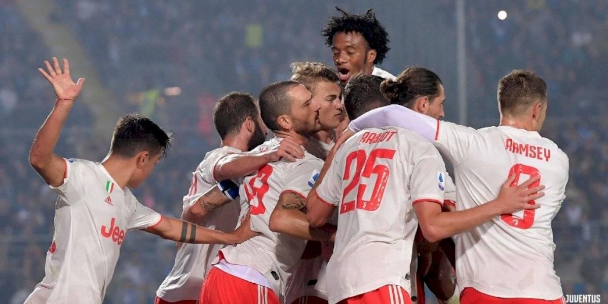 Juventus sufre para vencer a Brescia y le mete presión al Inter de Alexis en la Serie A italiana