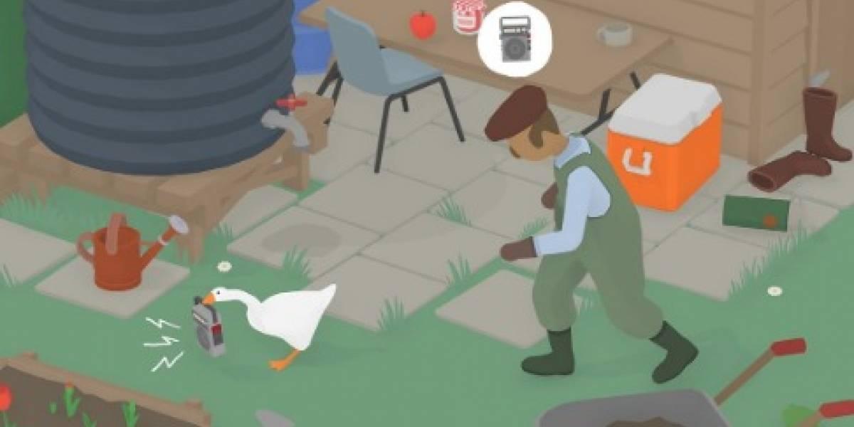 """""""Untiled Goose Game"""": el juego protagonizado por un ganso """"muy malo"""" del que todos hablan en Internet"""