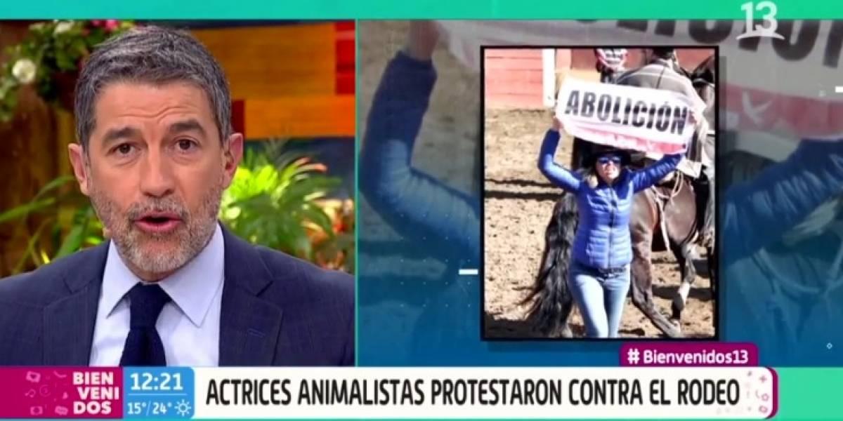 """""""No seas patudo"""": Polo Ramírez se molestó y le """"paró los carros"""" a Matías Vega en discusión sobre el rodeo"""