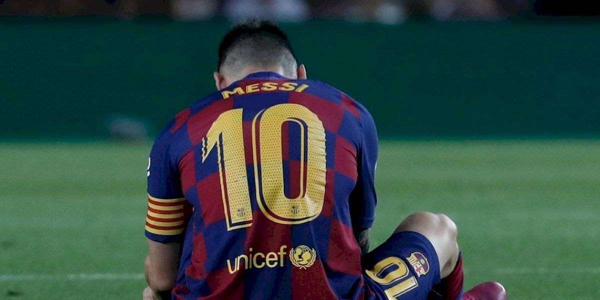 """Valverde descarta grave lesión de Messi: """"Parece que sea nada más que unas molestias en el aductor"""""""