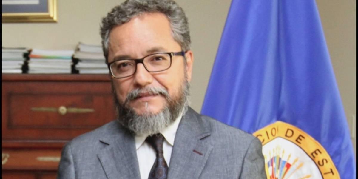 OEA designa a guatemalteco Ronalth Ochaeta como vocero interino de la CICIES