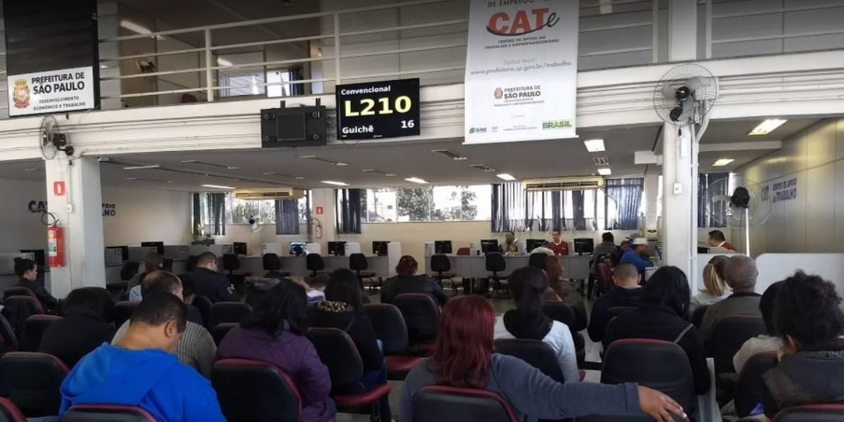 Cate tem 4,9 mil vagas de emprego abertas em São Paulo
