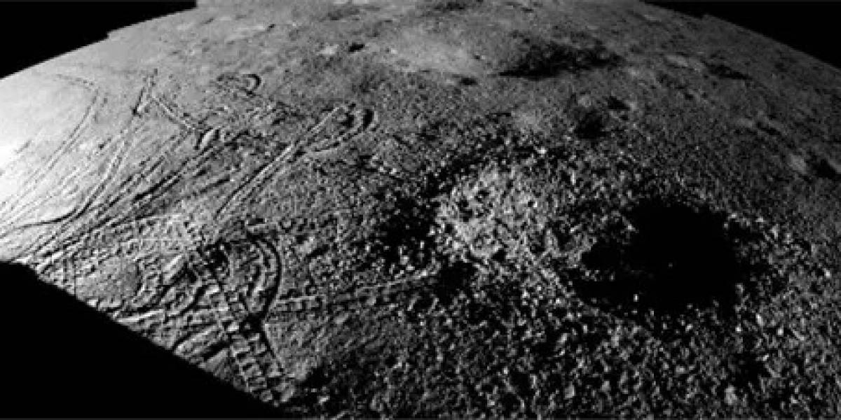 Divulgan nuevas imágenes de la sustancia extraña hallada en la cara oculta de la Luna