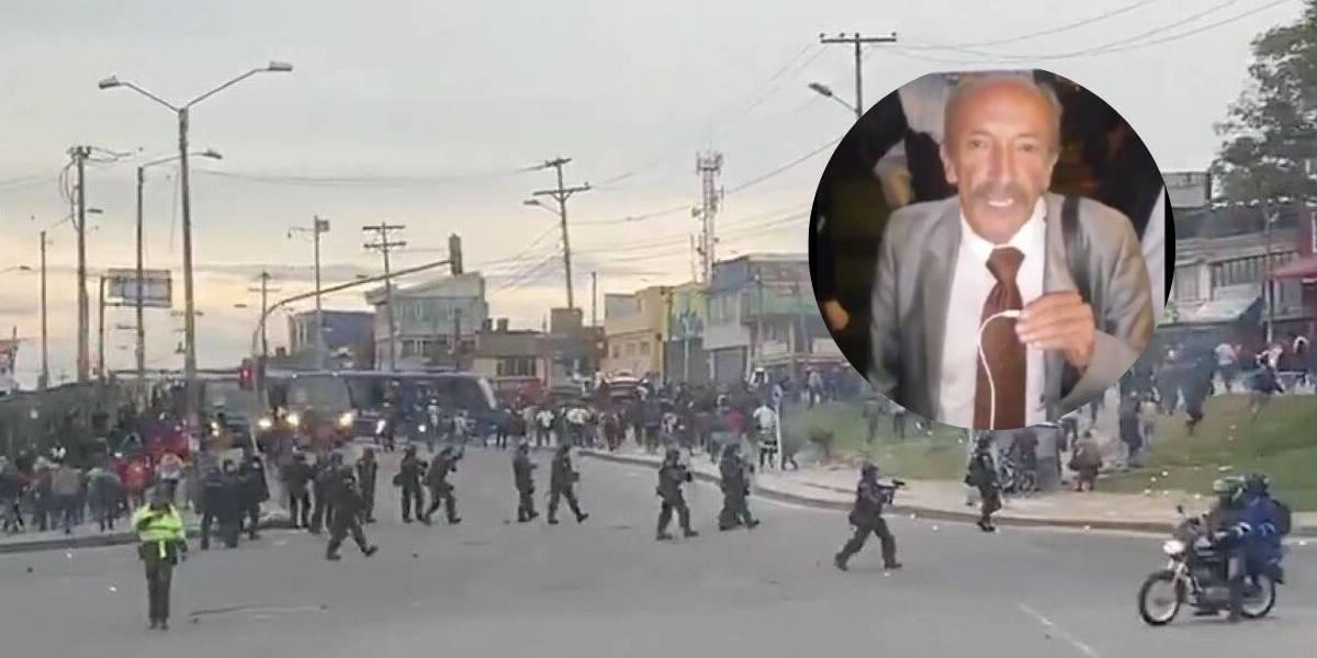 """Líder del paro de transporte: """"me ofrecieron 200 personas para provocar el caos"""""""