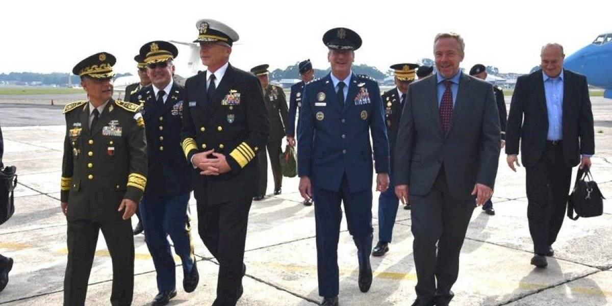 Comandantes del Ejército de EE.UU. hacen histórica visita a Guatemala
