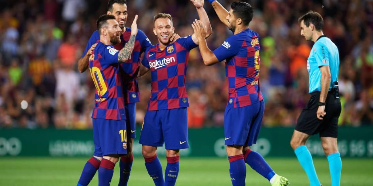 Vidal no jugó, Messi se lesionó, pero Barcelona logró una sufrida victoria para respirar en su crisis