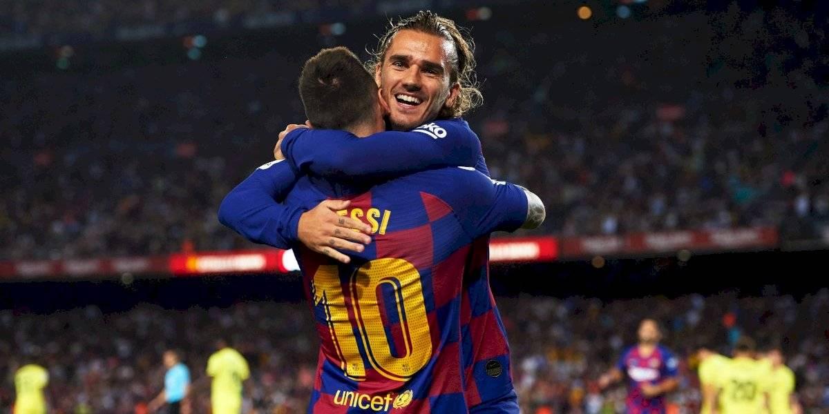 VIDEO: La emotiva celebración de Griezmann con Messi