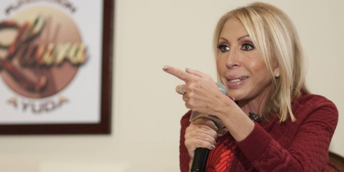 ¿Burla? Laura Bozzo da pésame a Rocío Sánchez Azuara pese a rivalidad