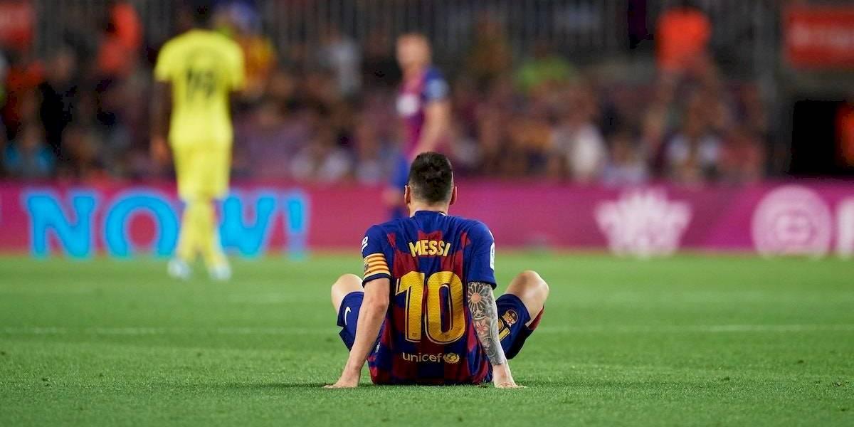 Lesión de Messi no sería grave pero se perdería el duelo ante Getafe