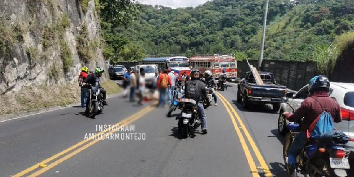 Motoristas con graves heridas tras accidentes en Villa Canales y zona 8
