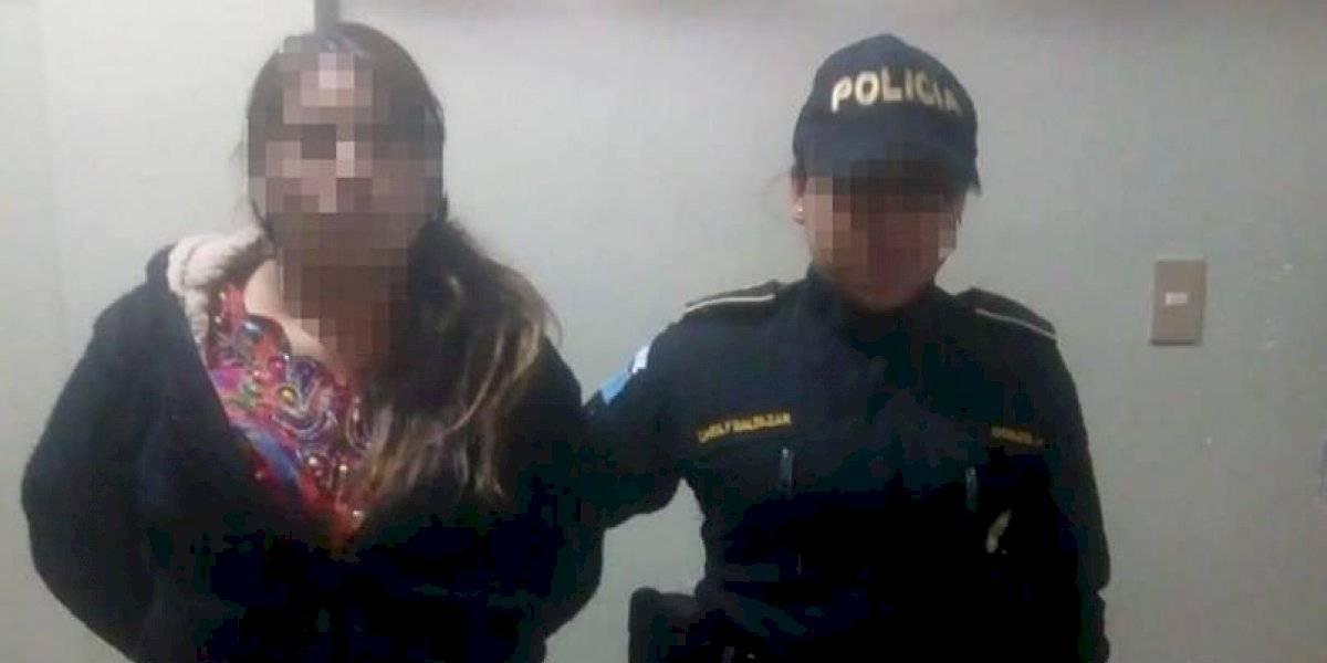 Capturan a mujer que se fugó de subestación policial de Santa Eulalia junto a 18 personas