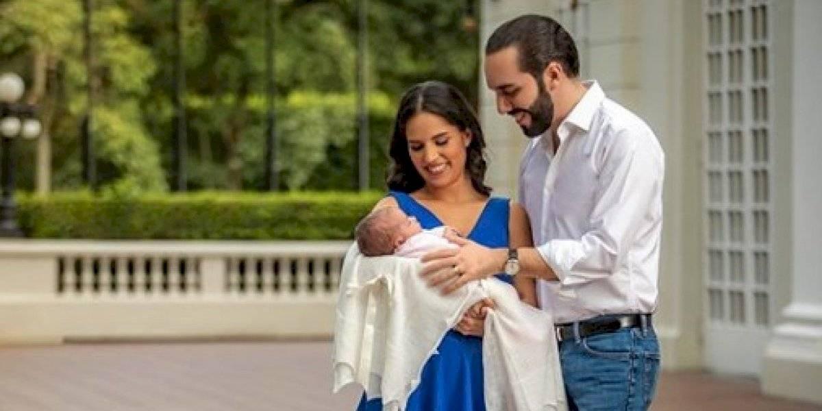 Layla, la hija del presidente de El Salvador, conmueve en su llegada a la Asamblea General de la ONU