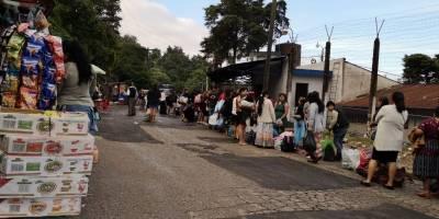 Familiares de reos celebran su día en el preventivo de la zona 18