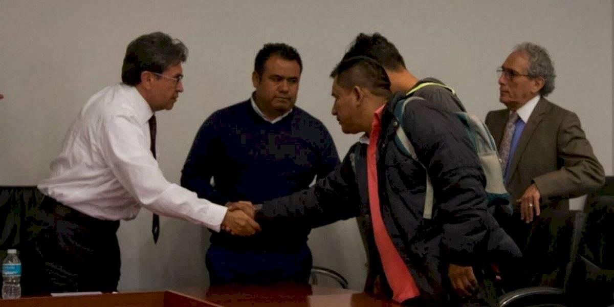 Ricardo Monreal y CNTE se reúnen por discusión de Reforma educativa