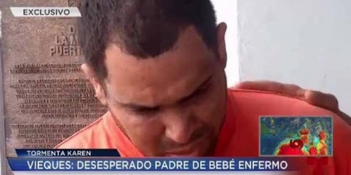 Gobierno entiende atendieron con diligencia emergencia con infante en Vieques