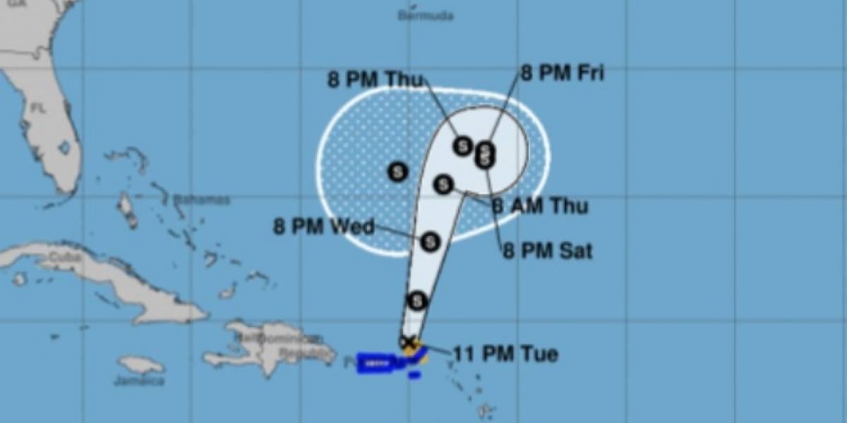 Karen se aleja de Puerto Rico pero deja fuertes lluvias