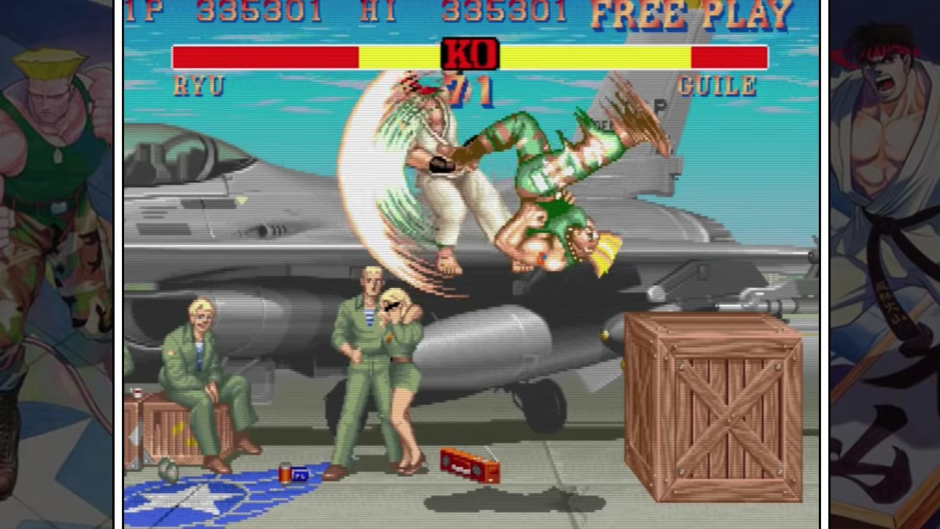 Street Fighter 2 trampas