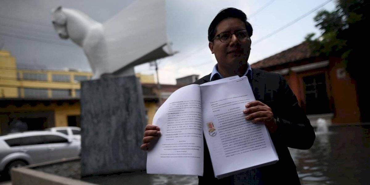 Acción Ciudadana presenta amparo contra integración de comisión que investigará a CICIG