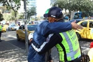 Operativo peatones en Quito
