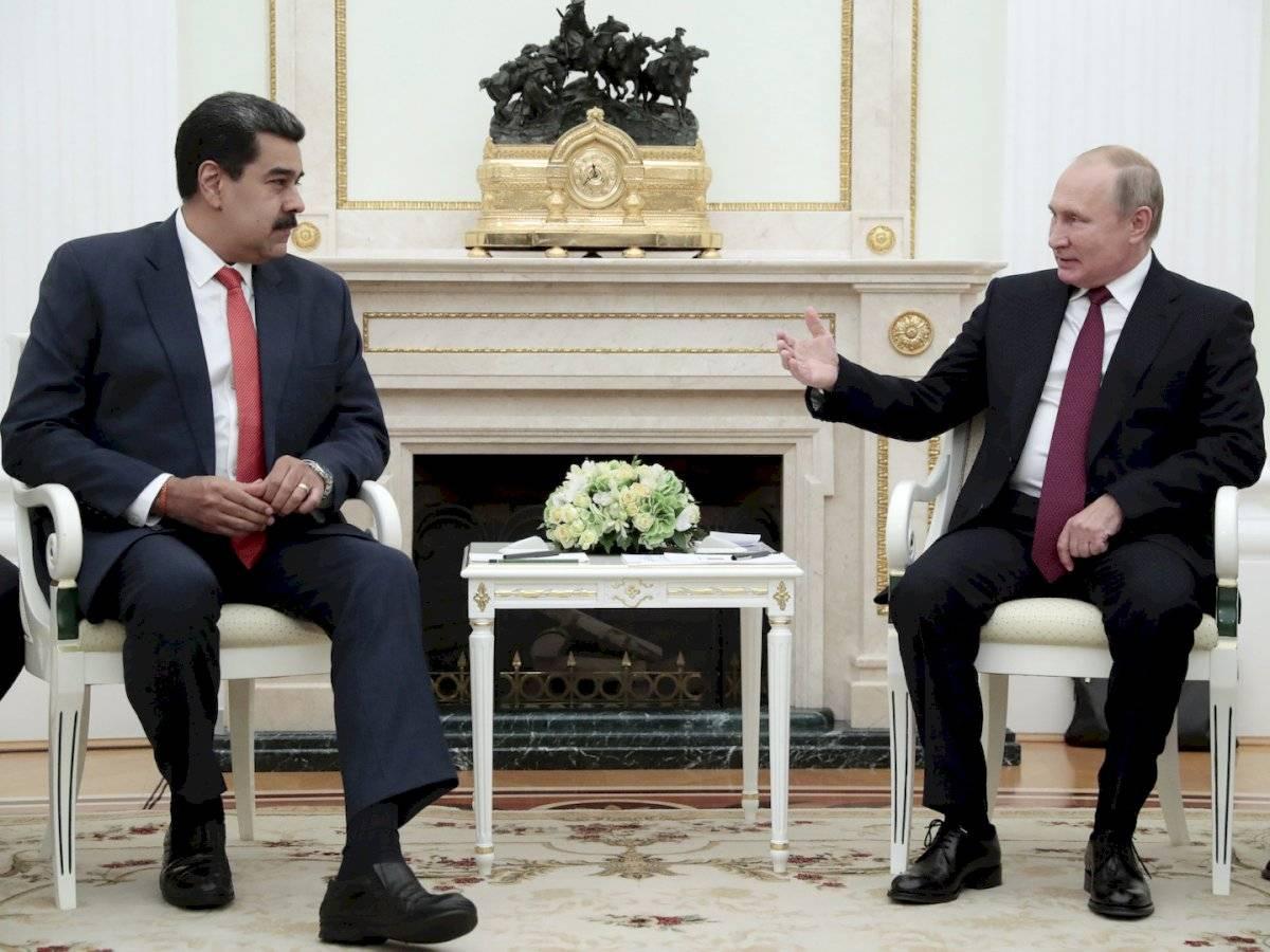 Nicolás Maduro se reúne con Vladimir Putin en Moscú