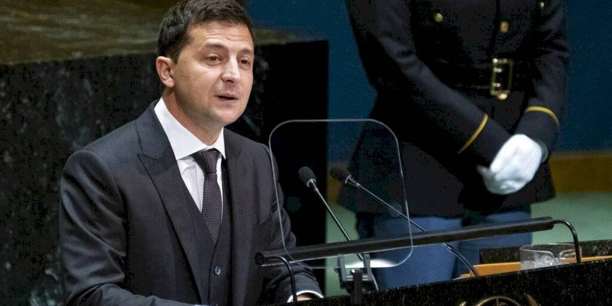 En medio de escándalo, habla presidente ucraniano en la ONU