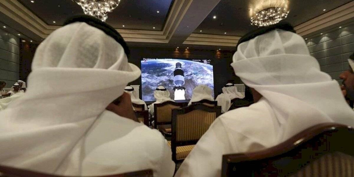 Primer astronauta árabe ya va rumbo al espacio