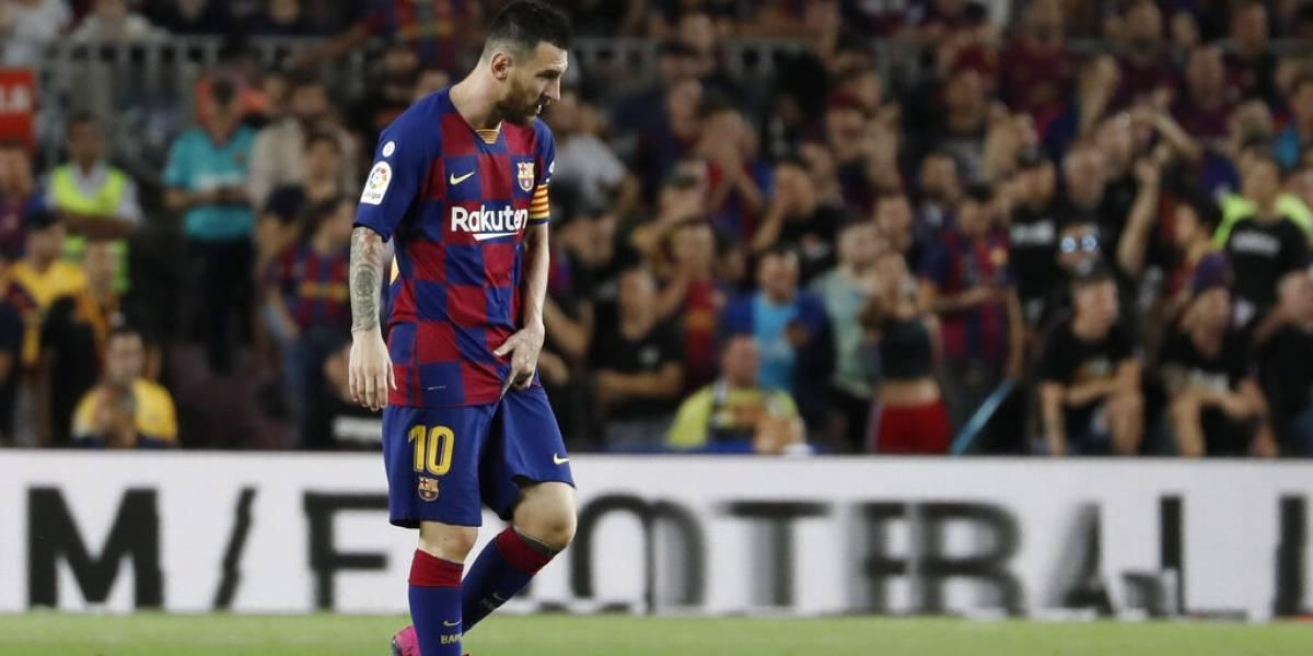 Leo Messi se perderá dos partidos con el Barcelona