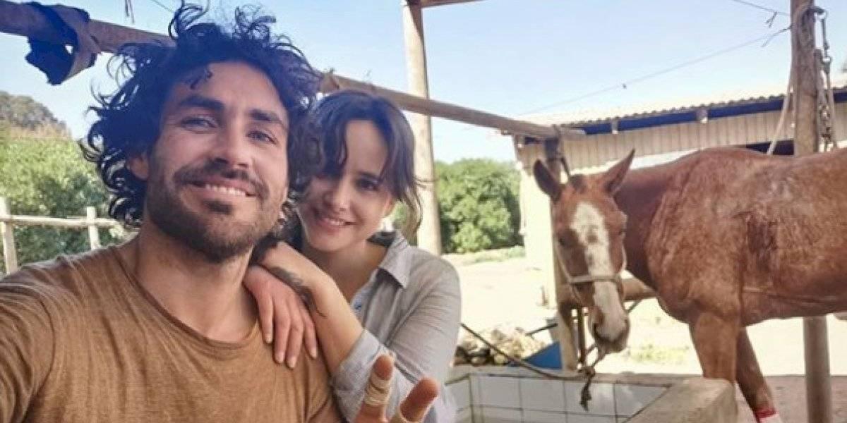 Matías Assler agradeció a Juanita Ringeling por su apoyo y contó detalles de su accidente a caballo