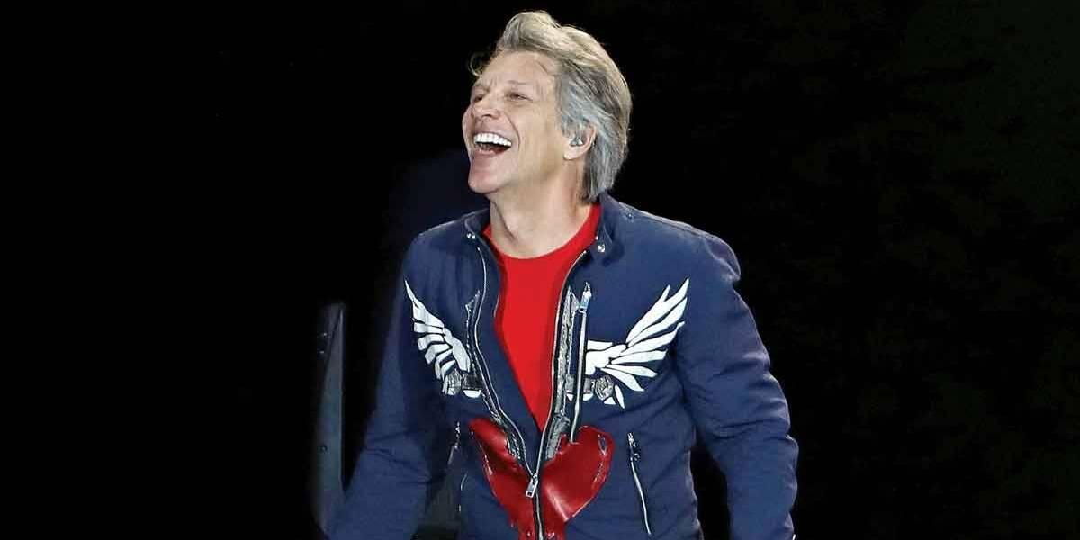 Jon Bon Jovi faz live e revela nova música nesta quarta (22)