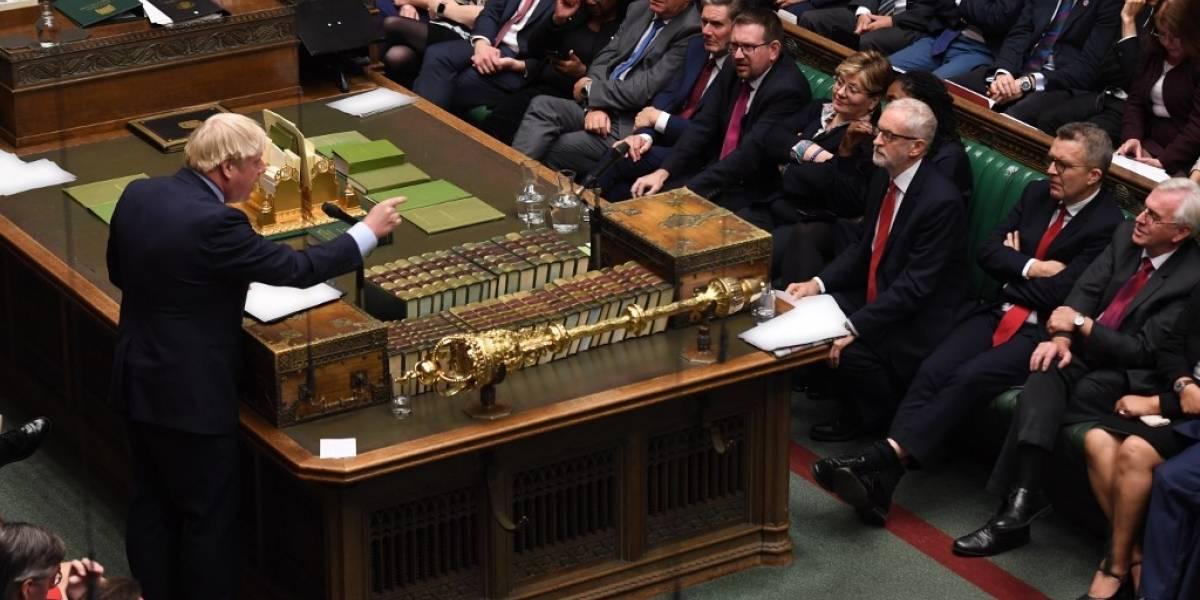 VIDEO. Boris Johnson desafía a la oposición para echarlo del poder