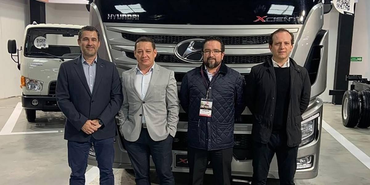 Hyundai estuvo presente en la Feria Expotransporte 2019