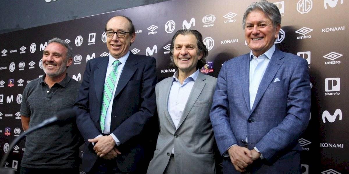 """Cambios en Colo Colo: el """"histórico"""" Alejandro Ascui se suma al directorio de Blanco y Negro"""